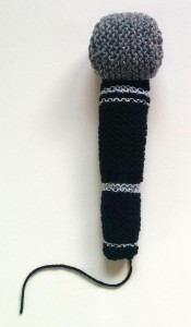 Knitted Microphone
