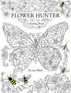 Flower Hunter Colouring Book Cover WEb